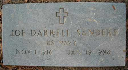 SANDERS  (VETERAN), JOE DARRELL - Faulkner County, Arkansas | JOE DARRELL SANDERS  (VETERAN) - Arkansas Gravestone Photos