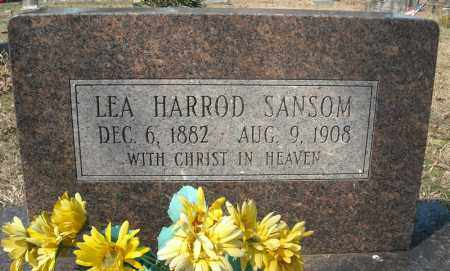 HARROD SANSOM, LEA - Faulkner County, Arkansas | LEA HARROD SANSOM - Arkansas Gravestone Photos