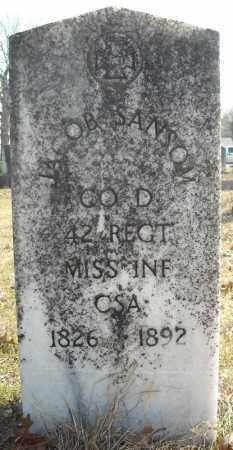 SANSOM (VETERAN CSA), JACOB - Faulkner County, Arkansas | JACOB SANSOM (VETERAN CSA) - Arkansas Gravestone Photos