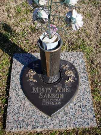 SANSON, MISTY ANN - Faulkner County, Arkansas | MISTY ANN SANSON - Arkansas Gravestone Photos