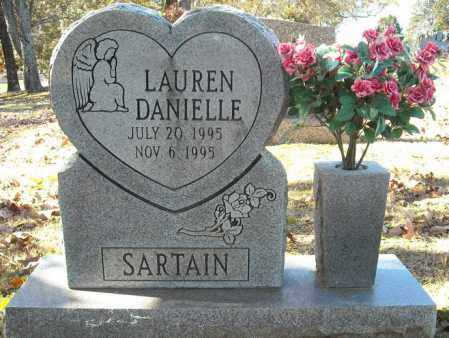 SARTAIN, LAUREN DANIELLE - Faulkner County, Arkansas | LAUREN DANIELLE SARTAIN - Arkansas Gravestone Photos