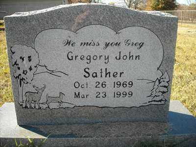 SATHER, GREGORY JOHN - Faulkner County, Arkansas | GREGORY JOHN SATHER - Arkansas Gravestone Photos