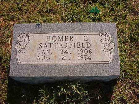 SATTERFIELD, HOMER G. - Faulkner County, Arkansas | HOMER G. SATTERFIELD - Arkansas Gravestone Photos