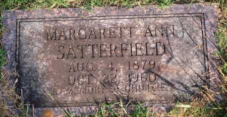 SATTERFIELD, MARGARET ANN - Faulkner County, Arkansas | MARGARET ANN SATTERFIELD - Arkansas Gravestone Photos