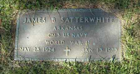 SATTERWHITE  (VETERAN WWII), JAMES B - Faulkner County, Arkansas | JAMES B SATTERWHITE  (VETERAN WWII) - Arkansas Gravestone Photos