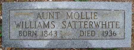 SATTERWHITE, MOLLIE - Faulkner County, Arkansas | MOLLIE SATTERWHITE - Arkansas Gravestone Photos