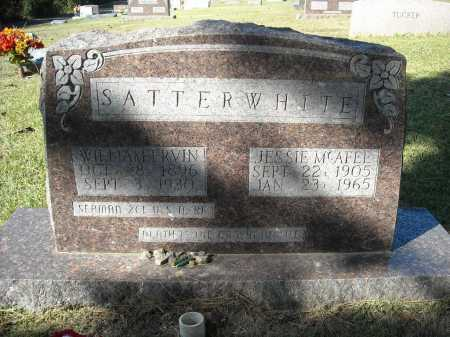 SATTERWHITE, WILLIAM ERVIN - Faulkner County, Arkansas | WILLIAM ERVIN SATTERWHITE - Arkansas Gravestone Photos