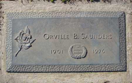 SAUNDERS, ORVILLE B. - Faulkner County, Arkansas | ORVILLE B. SAUNDERS - Arkansas Gravestone Photos