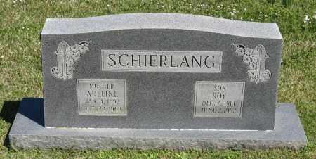 SCHIERLANG, ADELINE - Faulkner County, Arkansas | ADELINE SCHIERLANG - Arkansas Gravestone Photos