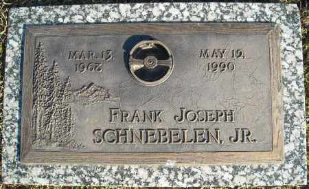 SCHNEBELEN, JR., FRANK JOSEPH - Faulkner County, Arkansas | FRANK JOSEPH SCHNEBELEN, JR. - Arkansas Gravestone Photos