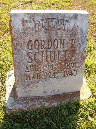 SCHULTZ, GORDON P. - Faulkner County, Arkansas | GORDON P. SCHULTZ - Arkansas Gravestone Photos