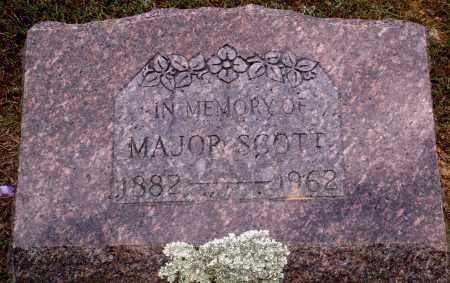 SCOTT, MAJOR - Faulkner County, Arkansas | MAJOR SCOTT - Arkansas Gravestone Photos