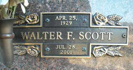 SCOTT, WALTER F. - Faulkner County, Arkansas | WALTER F. SCOTT - Arkansas Gravestone Photos