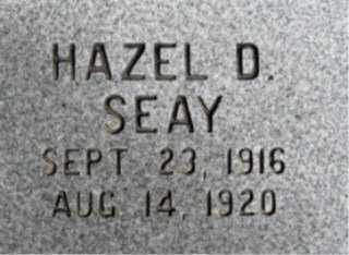 SEAY, HAZEL D. - Faulkner County, Arkansas | HAZEL D. SEAY - Arkansas Gravestone Photos