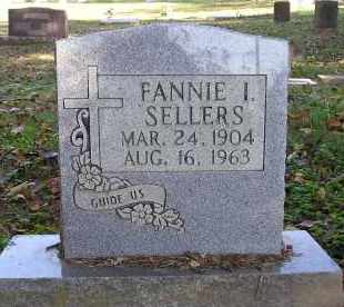SELLERS, FANNIE I. - Faulkner County, Arkansas | FANNIE I. SELLERS - Arkansas Gravestone Photos