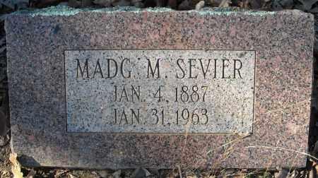 SEVIER, MADG M. - Faulkner County, Arkansas | MADG M. SEVIER - Arkansas Gravestone Photos