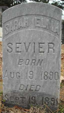 SEVIER, SARAH ELMA - Faulkner County, Arkansas | SARAH ELMA SEVIER - Arkansas Gravestone Photos