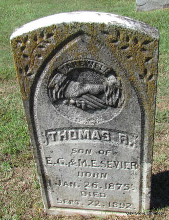 SEVIER, THOMAS R. - Faulkner County, Arkansas | THOMAS R. SEVIER - Arkansas Gravestone Photos