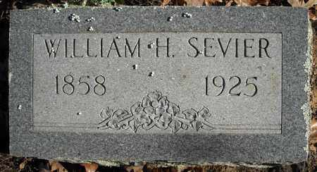 SEVIER, WILLIAM H. - Faulkner County, Arkansas | WILLIAM H. SEVIER - Arkansas Gravestone Photos
