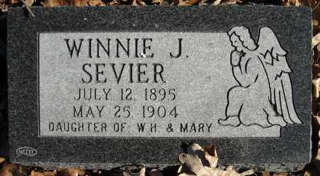 SEVIER, WINNIE J. - Faulkner County, Arkansas | WINNIE J. SEVIER - Arkansas Gravestone Photos
