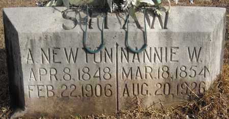 SHAW, NANNIE W. - Faulkner County, Arkansas | NANNIE W. SHAW - Arkansas Gravestone Photos