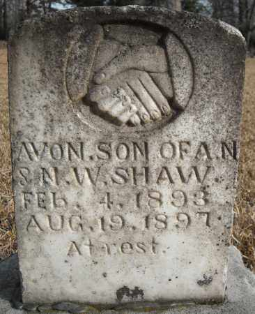 SHAW, AVON - Faulkner County, Arkansas   AVON SHAW - Arkansas Gravestone Photos