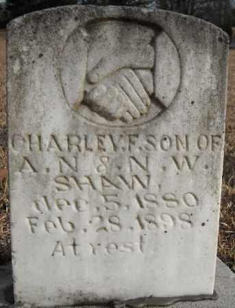 SHAW, CHARLEY F. - Faulkner County, Arkansas | CHARLEY F. SHAW - Arkansas Gravestone Photos