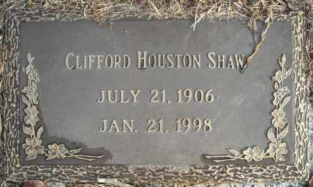 SHAW, CLIFFORD HOUSTON - Faulkner County, Arkansas | CLIFFORD HOUSTON SHAW - Arkansas Gravestone Photos