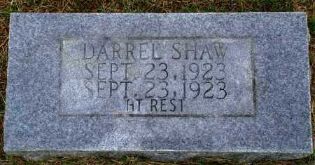 SHAW, DARREL - Faulkner County, Arkansas | DARREL SHAW - Arkansas Gravestone Photos
