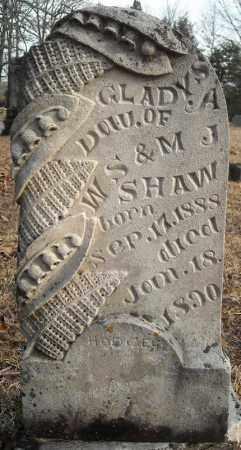 SHAW, GLADYS A. - Faulkner County, Arkansas | GLADYS A. SHAW - Arkansas Gravestone Photos