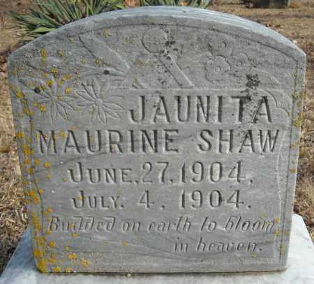 SHAW, JUANITA MAURINE - Faulkner County, Arkansas | JUANITA MAURINE SHAW - Arkansas Gravestone Photos