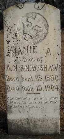 SHAW, MAMIE A. - Faulkner County, Arkansas | MAMIE A. SHAW - Arkansas Gravestone Photos