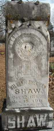 SHAW, WILLIAM SHERMAN - Faulkner County, Arkansas | WILLIAM SHERMAN SHAW - Arkansas Gravestone Photos