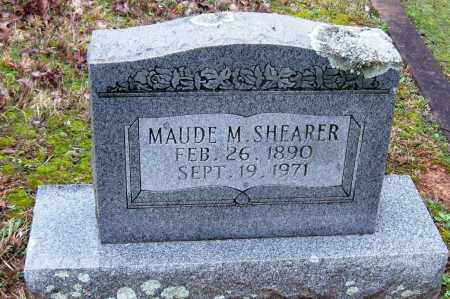 SHEARER, MAUDE M. - Faulkner County, Arkansas | MAUDE M. SHEARER - Arkansas Gravestone Photos