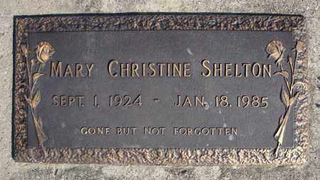 SHELTON, MARY CHRISTINE - Faulkner County, Arkansas | MARY CHRISTINE SHELTON - Arkansas Gravestone Photos
