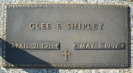 SHIPLEY, GLEE E. - Faulkner County, Arkansas | GLEE E. SHIPLEY - Arkansas Gravestone Photos