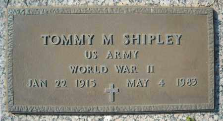SHIPLEY (VETERAN WWII), TOMMY M - Faulkner County, Arkansas | TOMMY M SHIPLEY (VETERAN WWII) - Arkansas Gravestone Photos