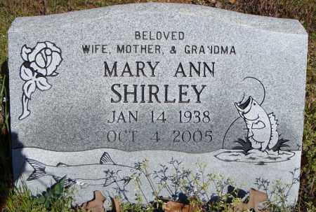 SHIRLEY, MARY ANN - Faulkner County, Arkansas | MARY ANN SHIRLEY - Arkansas Gravestone Photos