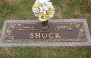 SHOCK, ANDREW JACKSON - Faulkner County, Arkansas | ANDREW JACKSON SHOCK - Arkansas Gravestone Photos