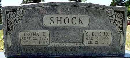 "SHOCK, GEORGE DEWEY ""BUD"" - Faulkner County, Arkansas 