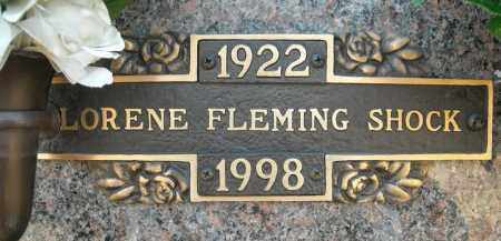 SHOCK, LORENE - Faulkner County, Arkansas | LORENE SHOCK - Arkansas Gravestone Photos