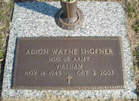 SHOFNER (VETERAN VIET), ADION WAYNE - Faulkner County, Arkansas | ADION WAYNE SHOFNER (VETERAN VIET) - Arkansas Gravestone Photos