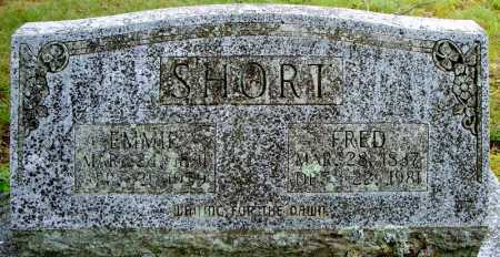 SHORT, FRED - Faulkner County, Arkansas | FRED SHORT - Arkansas Gravestone Photos