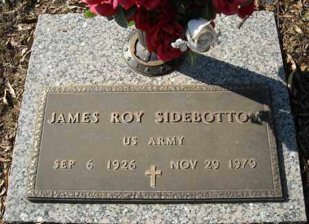 SIDEBOTTOM (VETERAN), JAMES ROY - Faulkner County, Arkansas | JAMES ROY SIDEBOTTOM (VETERAN) - Arkansas Gravestone Photos