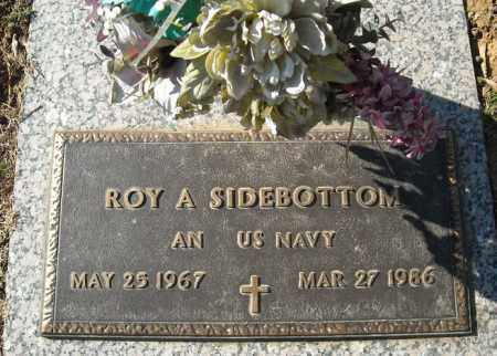 SIDEBOTTOM (VETERAN), ROY A - Faulkner County, Arkansas | ROY A SIDEBOTTOM (VETERAN) - Arkansas Gravestone Photos