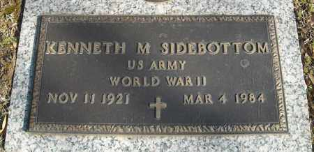 SIDEBOTTOM (VETERAN WWII), KENNETH M - Faulkner County, Arkansas | KENNETH M SIDEBOTTOM (VETERAN WWII) - Arkansas Gravestone Photos