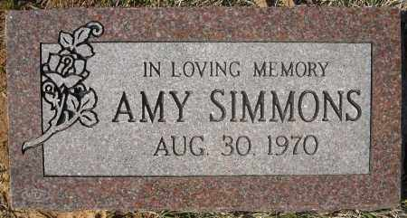 SIMMONS, AMY - Faulkner County, Arkansas | AMY SIMMONS - Arkansas Gravestone Photos