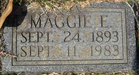 SIMMONS, MAGGIE E. - Faulkner County, Arkansas | MAGGIE E. SIMMONS - Arkansas Gravestone Photos