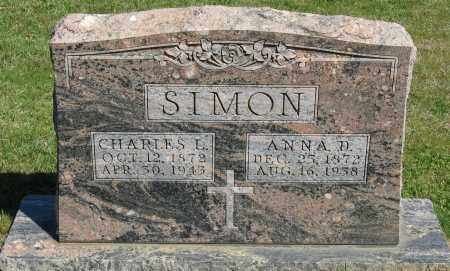 SIMON, CHARLES L. - Faulkner County, Arkansas | CHARLES L. SIMON - Arkansas Gravestone Photos