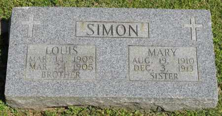 SIMON, MARY - Faulkner County, Arkansas | MARY SIMON - Arkansas Gravestone Photos